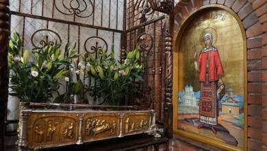 Photo of Moaștele Sfintei Filoteia ajung mâine în tot județul Argeș
