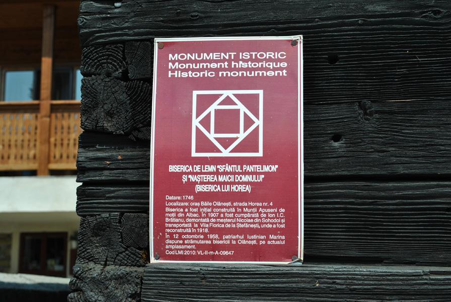 Bisericuta lui Horea Baile Olanesti Monument istoric1 99ef7