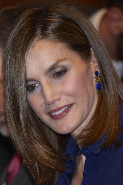 La reine Letizia d Espagne a Madrid le 7 septembre 20161