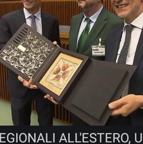 Photo of DISTINCȚIE IMPORTANTĂ ÎN ITALIA PENTRU GIULIO ARMANASCHI