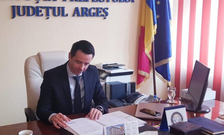 Photo of Conferința de presă online susținută de prefectul județului Argeș – Emanuel Soare