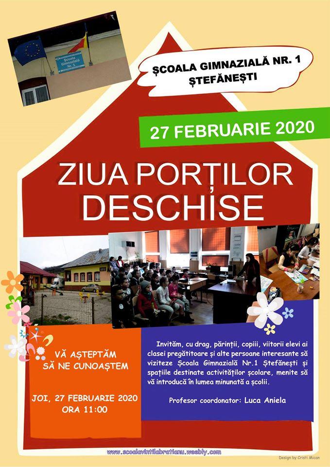 Școala Vintilă Brătianu vă invită...la școală